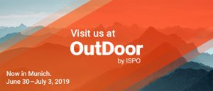 OutDoor by ISPO 2019 in Munich, Germany.